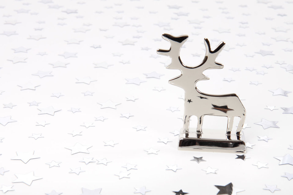 Reindeer and stars