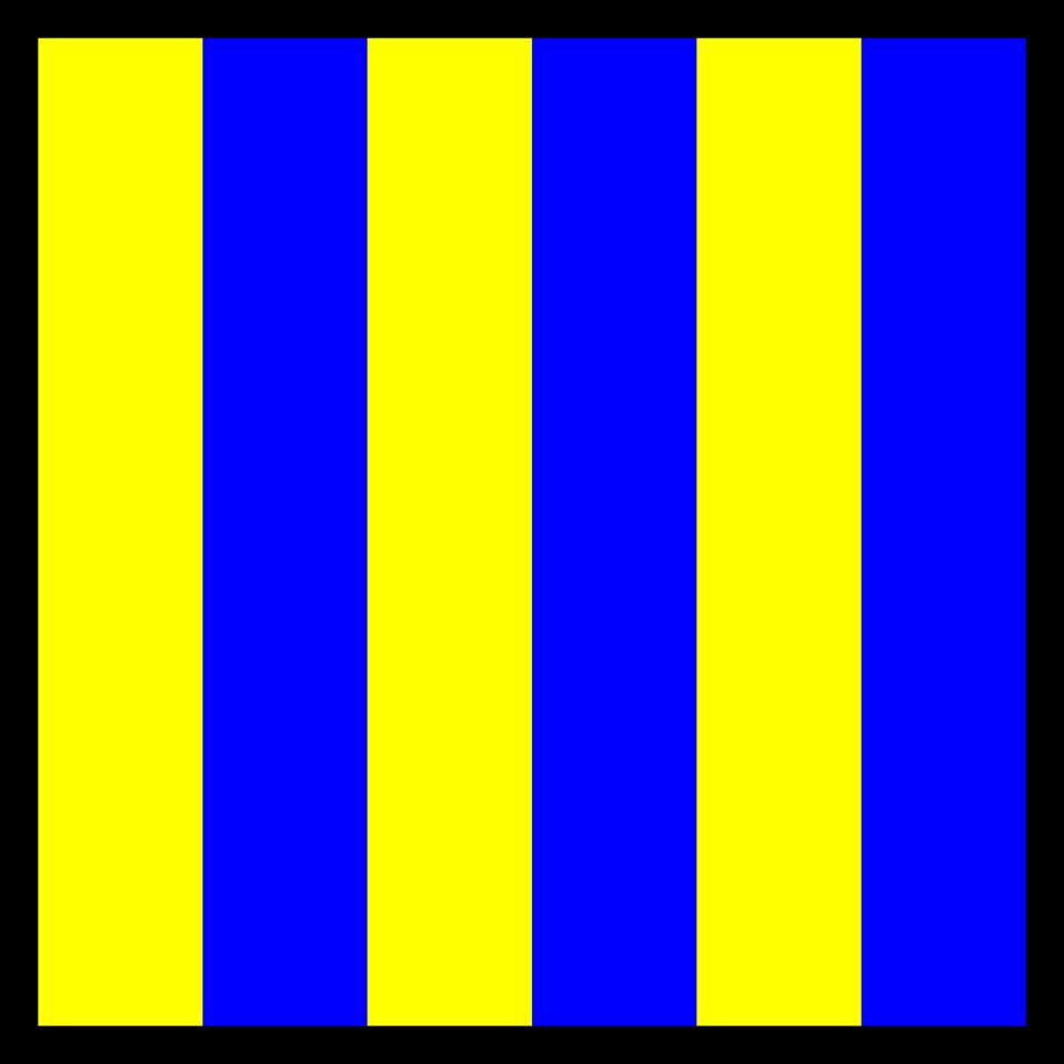 signal flag golf