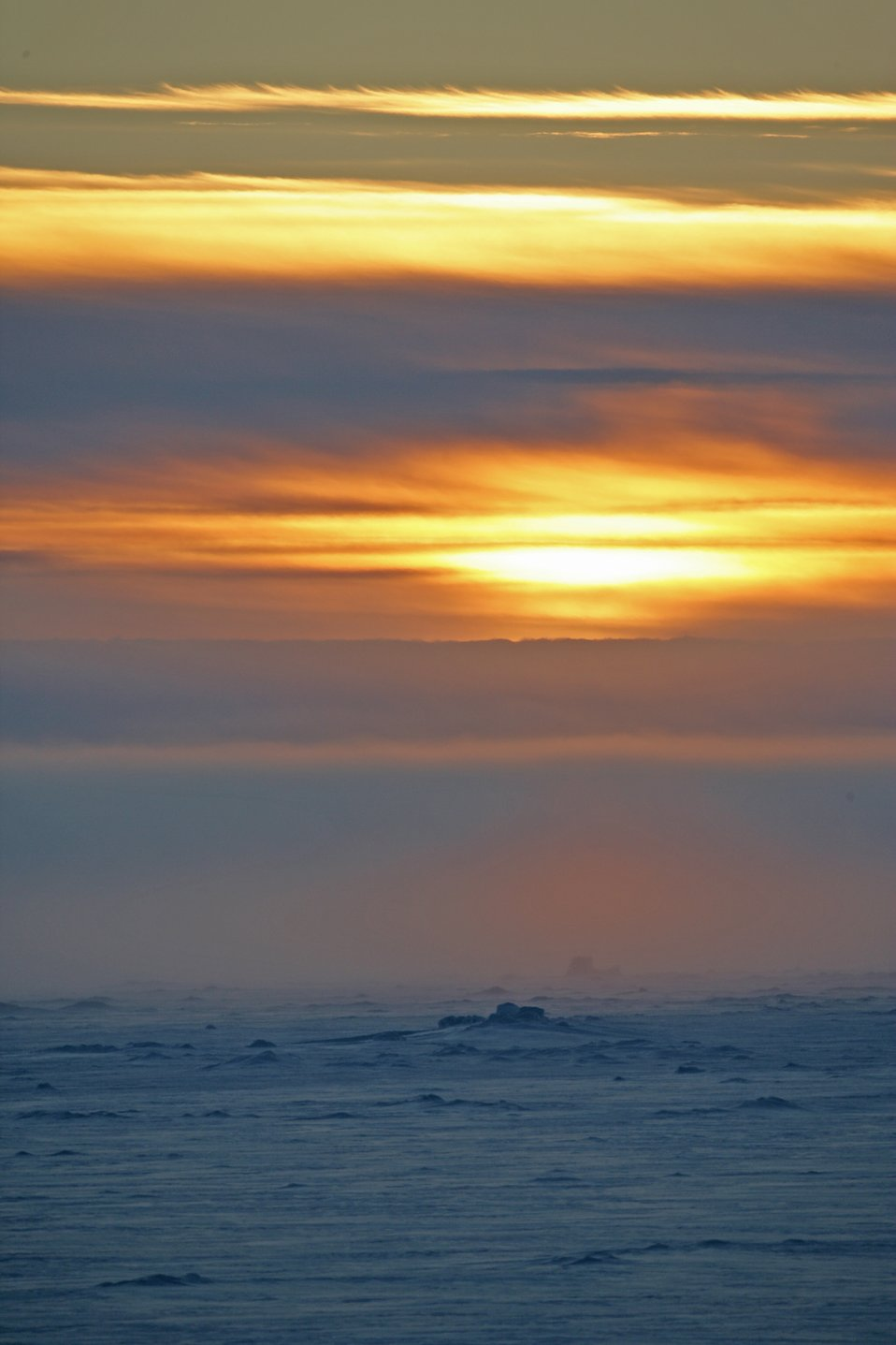 Arctic sunset. See: http://www.naturalsciences.org/education/arctic/