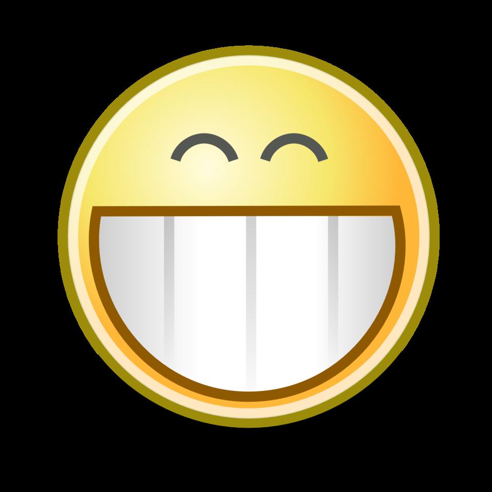 tango face grin