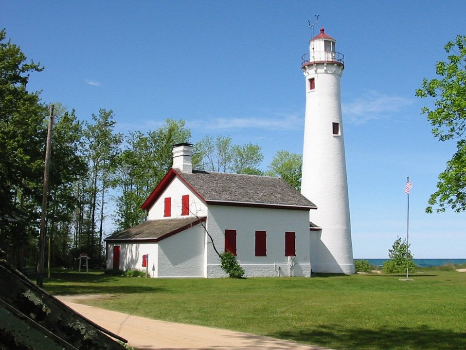 Sturgeon Point Light, Lake Huron