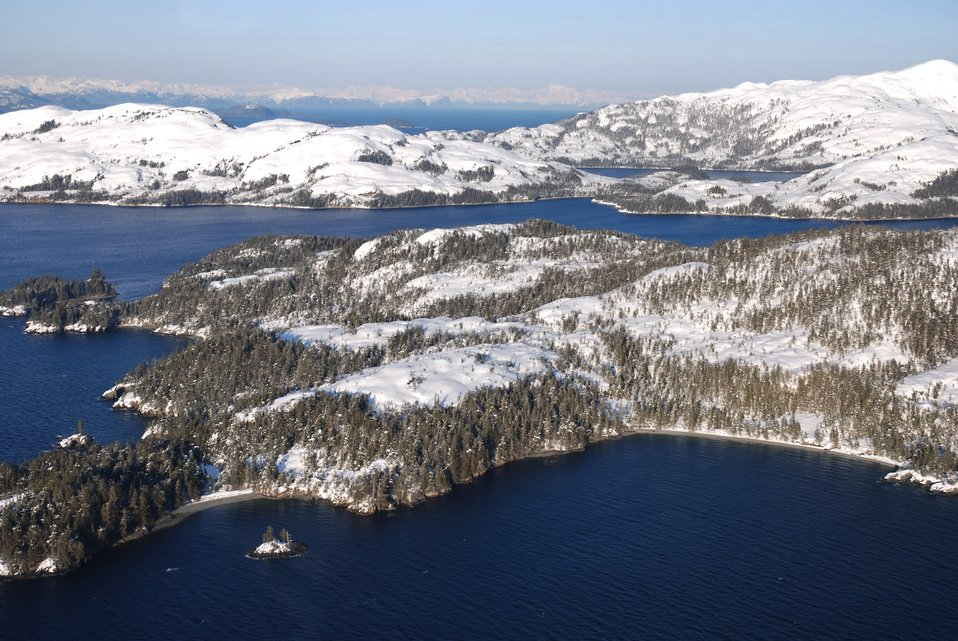 Evans Island and the labyrinthine waterways of western Prince William Sound