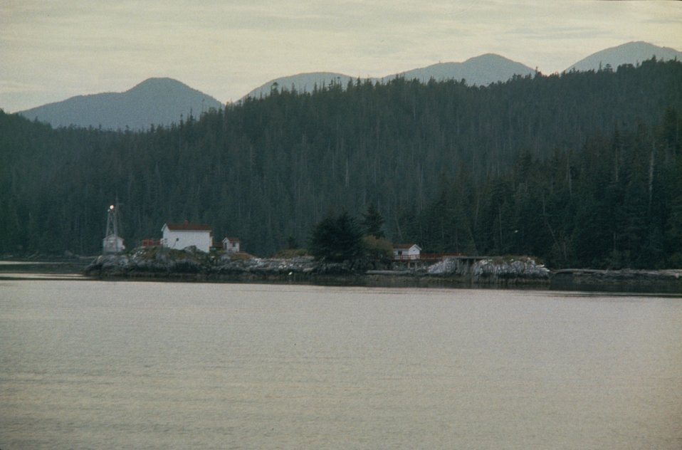 A scene on the Inside Passage