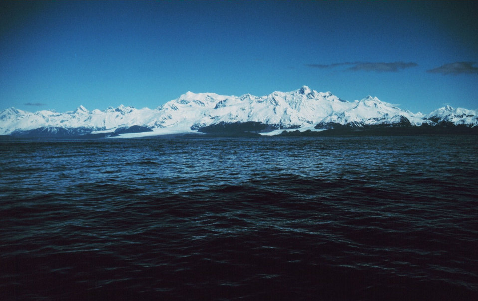 Enroute to Prince William Sound shortly after rounding Cape Spencer