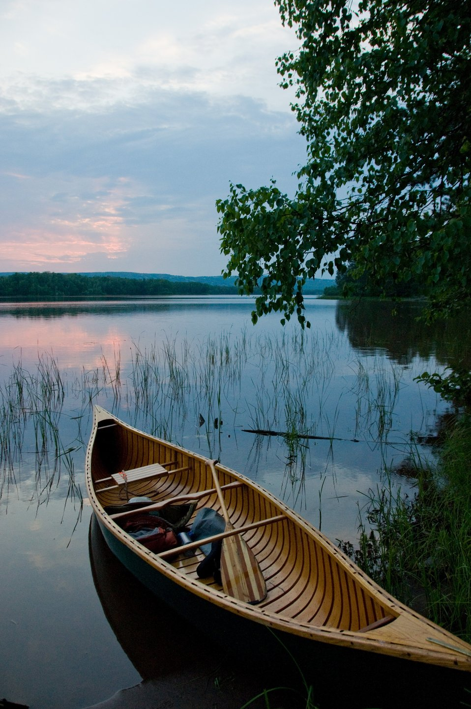 Canoeing in the serene waters of the St. Louis River in Wisconsin is one of the favorite recreational activities in the new Lake Superior National Estuarine Research Reserve, which was officially designated part of the National Estuarine Research Reserve