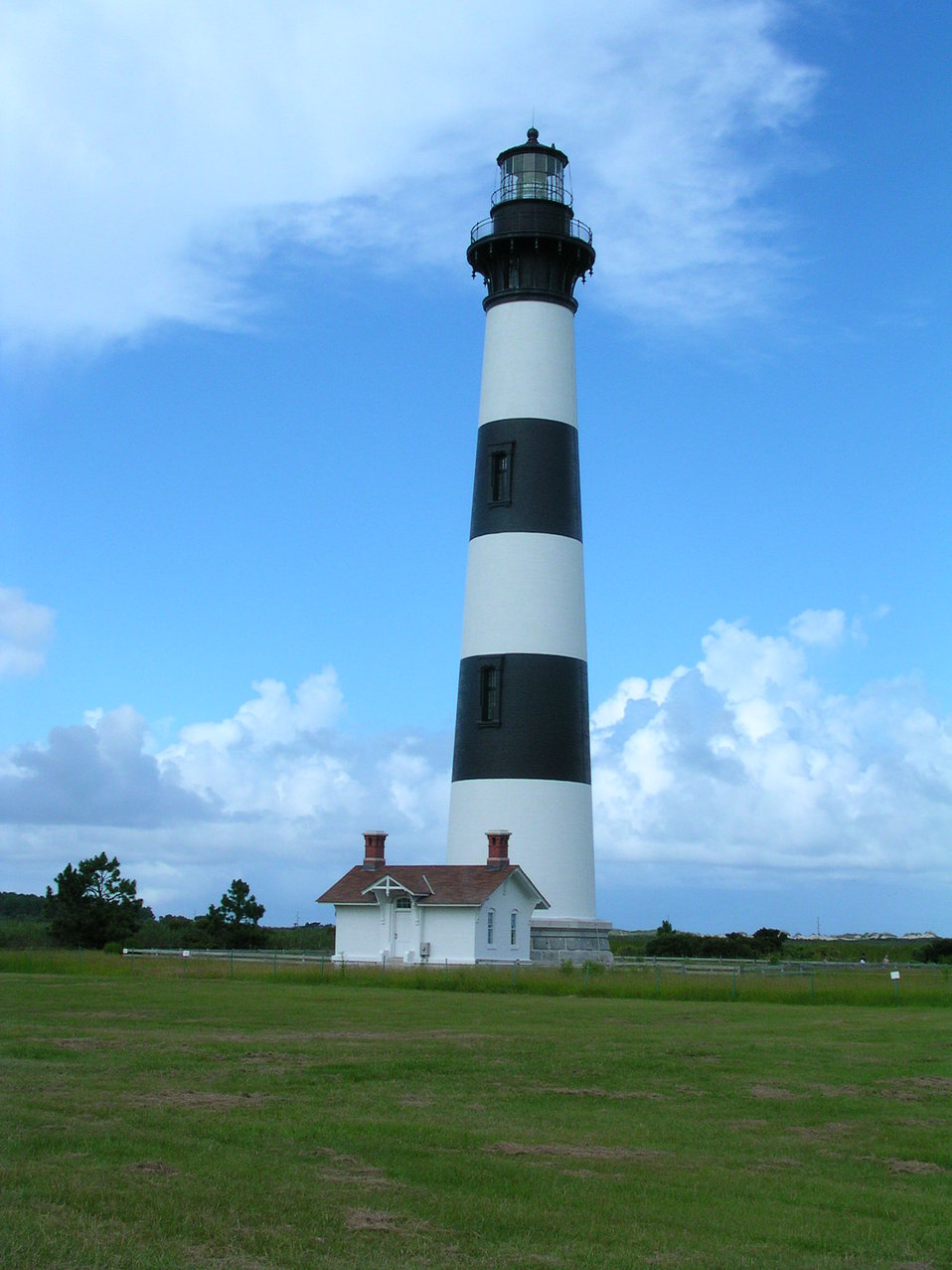 Bodie Island Lighthouse.