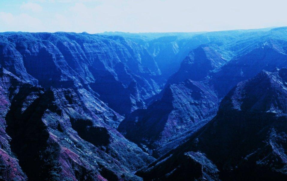Waimea Canyon - the Grand Canyon of the Pacific
