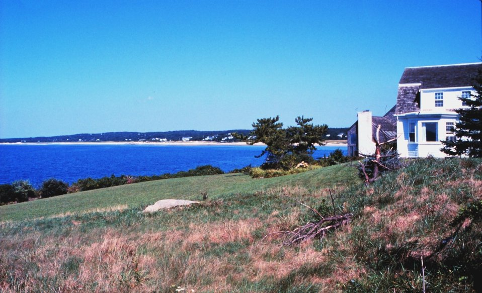 Buzzards Bay from Woods Hole