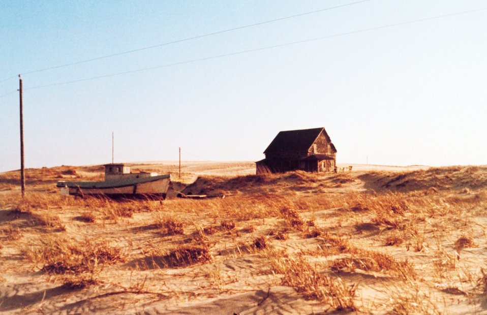 A deserted fisherman's home on the Outer Banks
