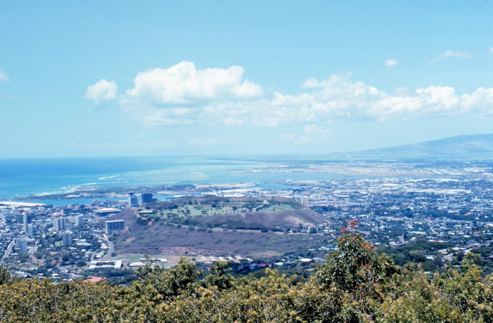 View of Honolulu from St. Louis Heights