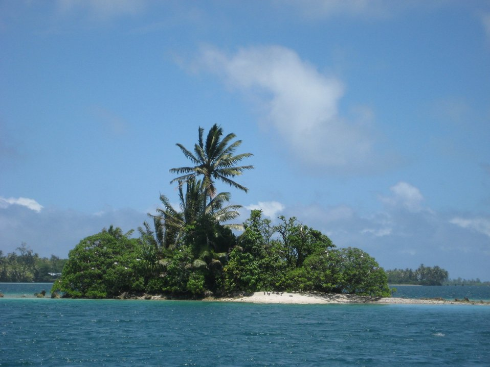 A tropical islet