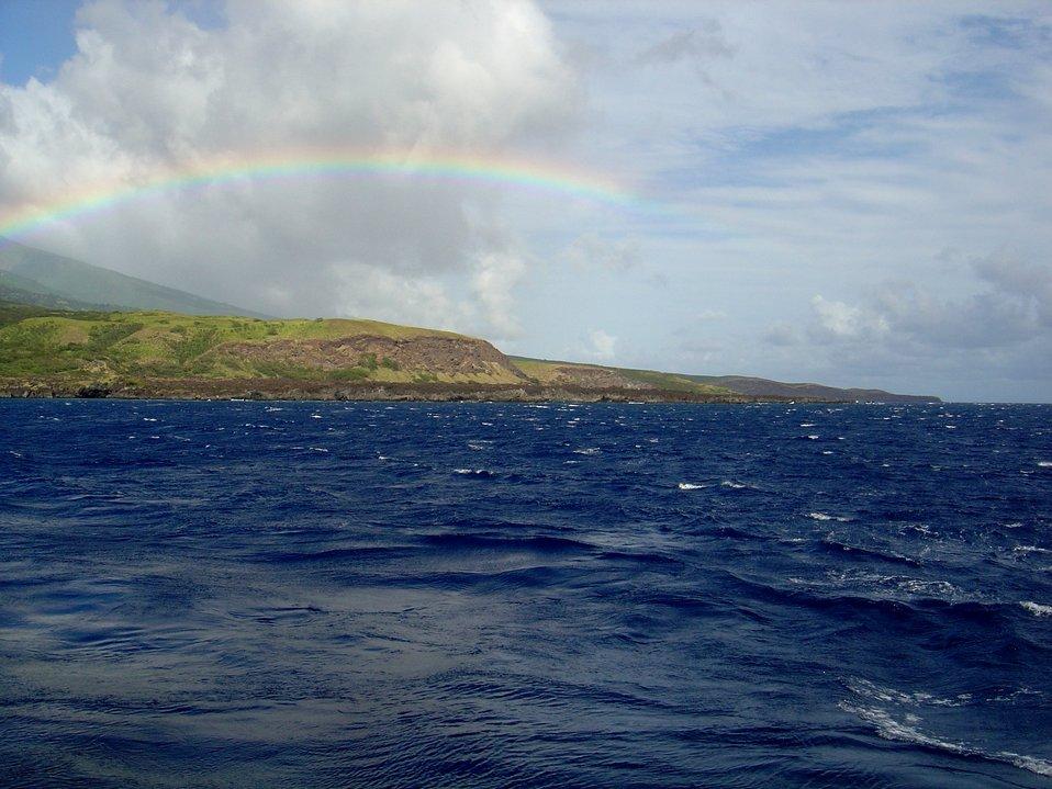 Coast of southern Maui.