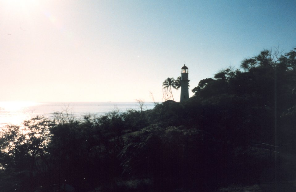 Southeast shore lighthouse