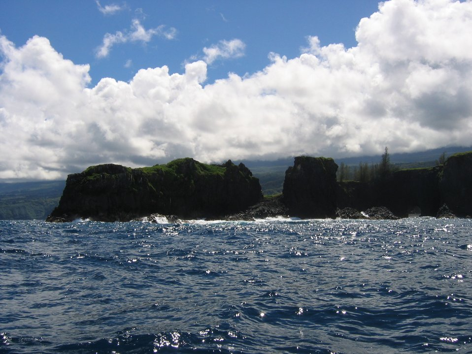 Coast of eastern Maui.