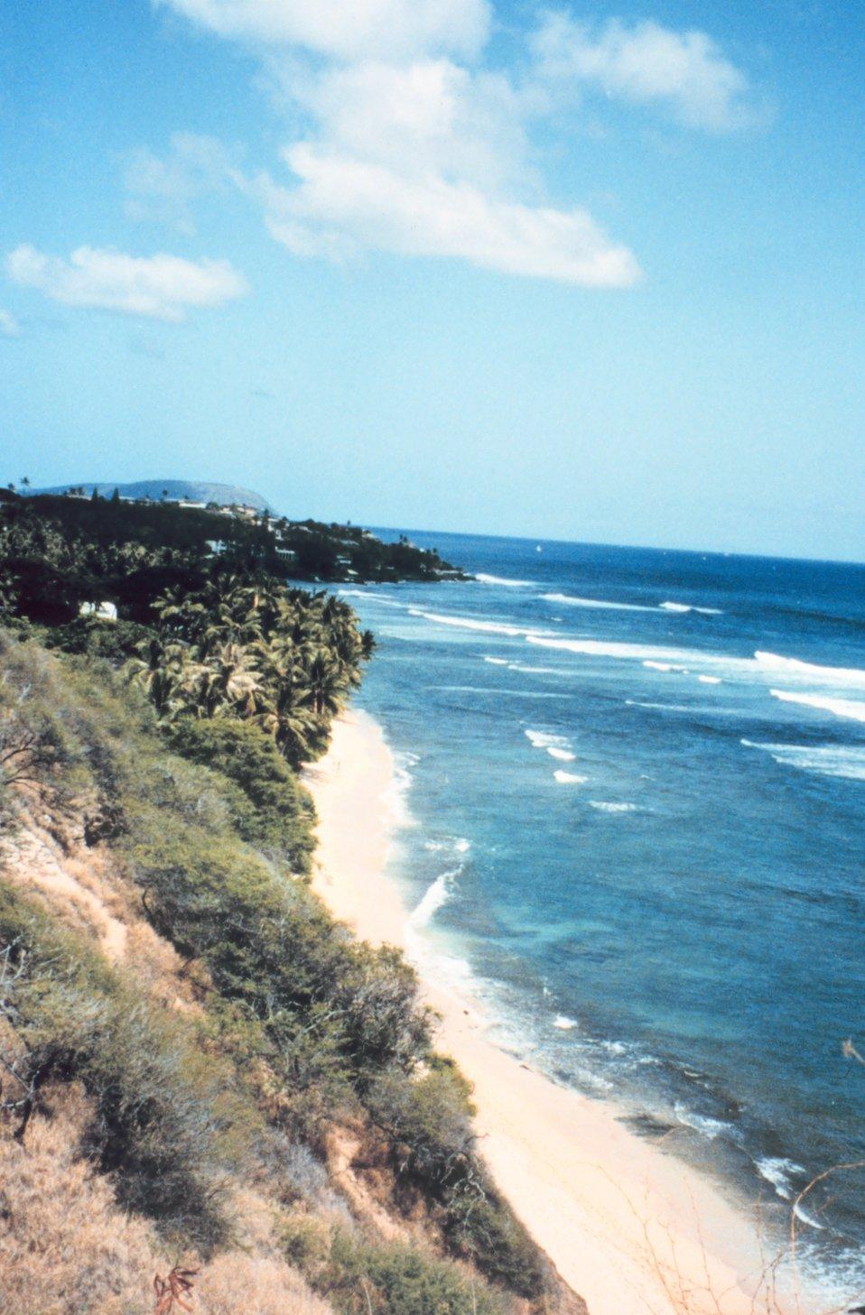 Southeast coast of Oahu