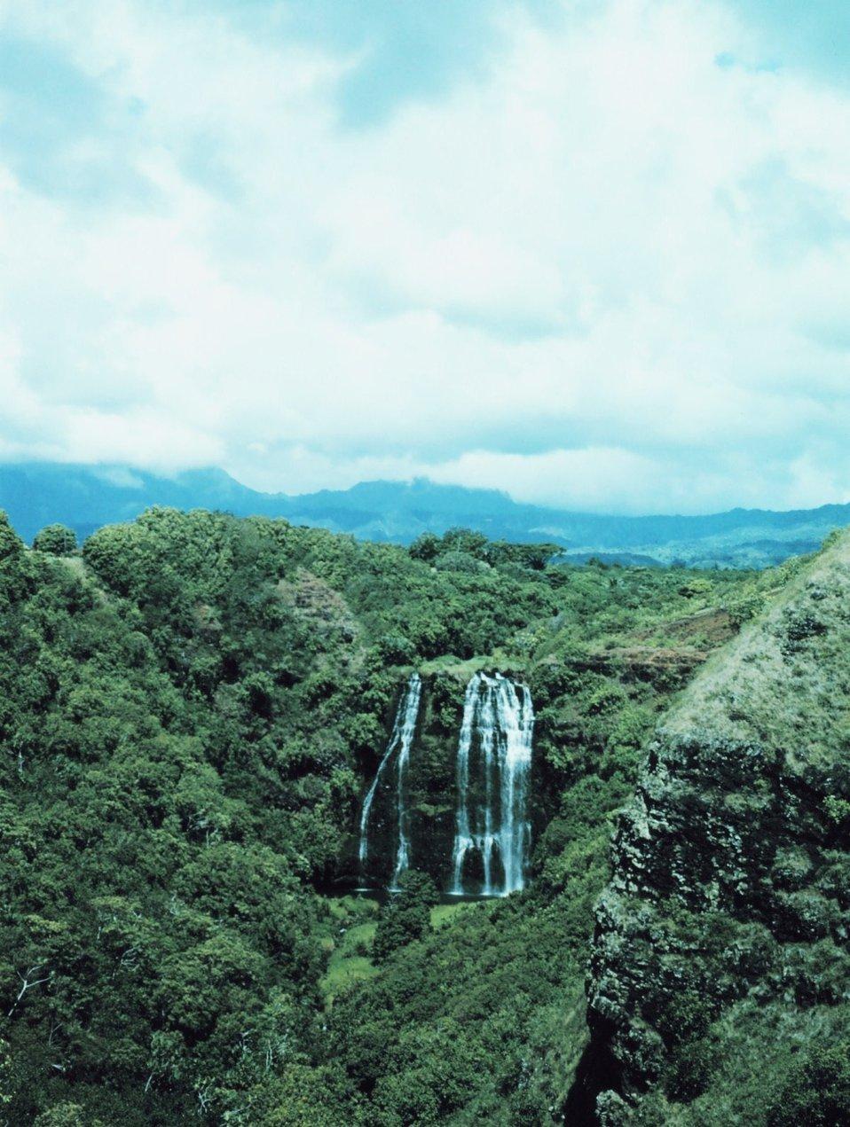 Opaikua Falls at Wailua
