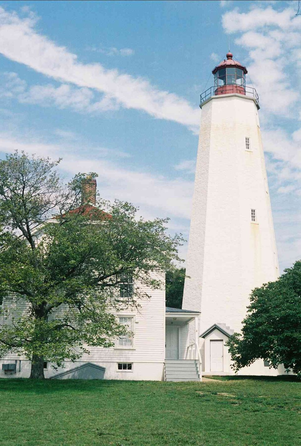 Sandy Hook Lighthouse.
