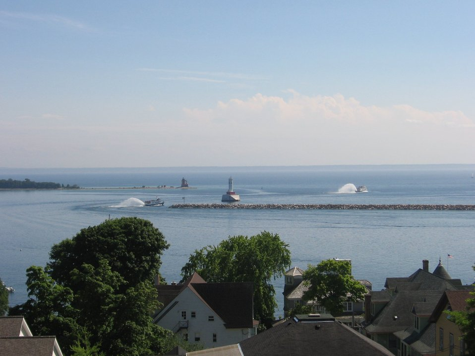 Straits of Mackinac, Mackinac Island