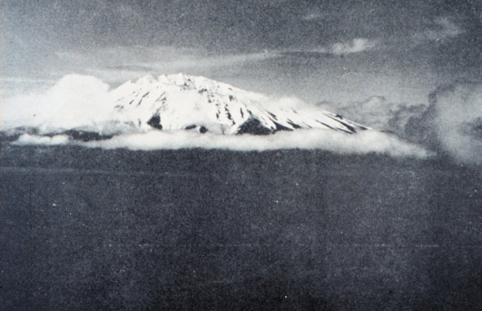Herbert Island in the Four Mountains group of islands.