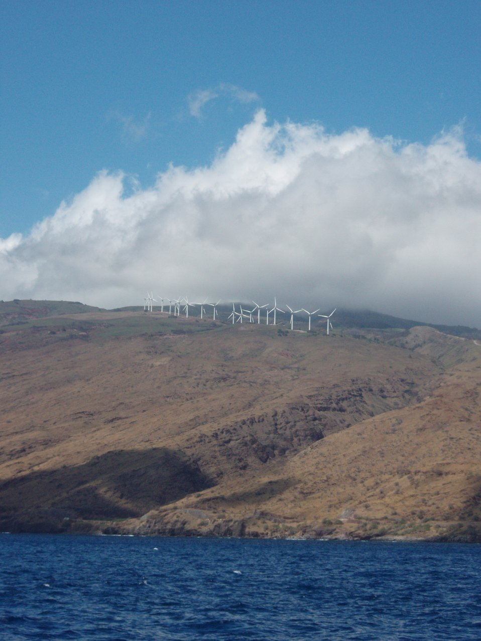 Kaheawa wind energy site on the west end of Maui.  30MW of clean renewable energy.