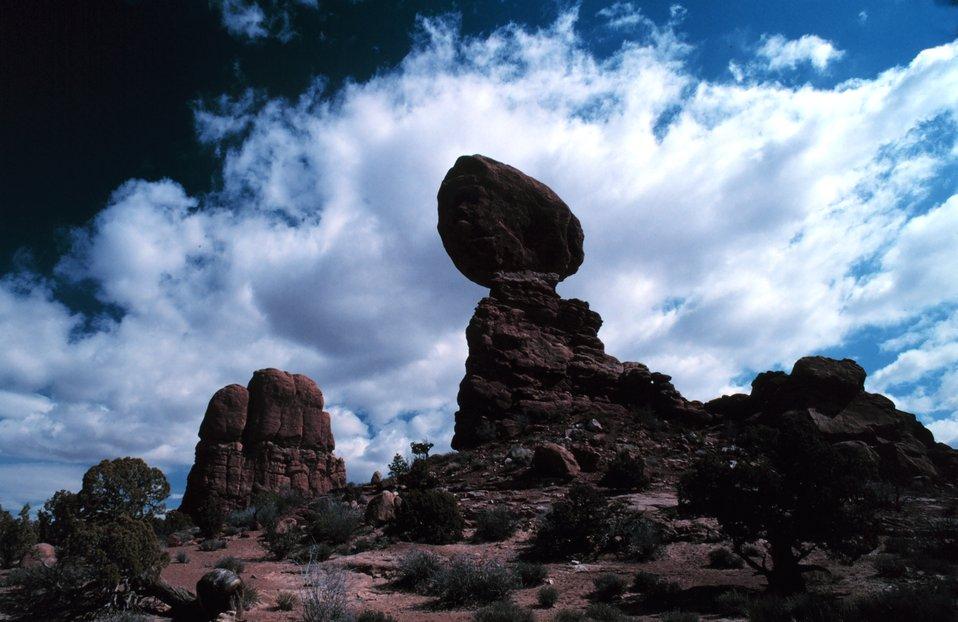 Colorado Plateau cumulus.