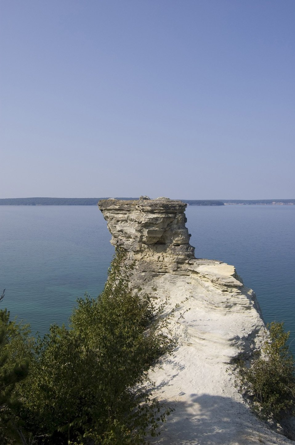 Lake Superior. Pictured Rocks