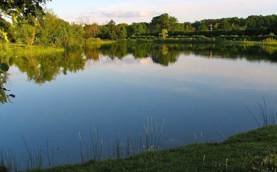 Gallup Park, Huron River, Ann Arbor, MI.