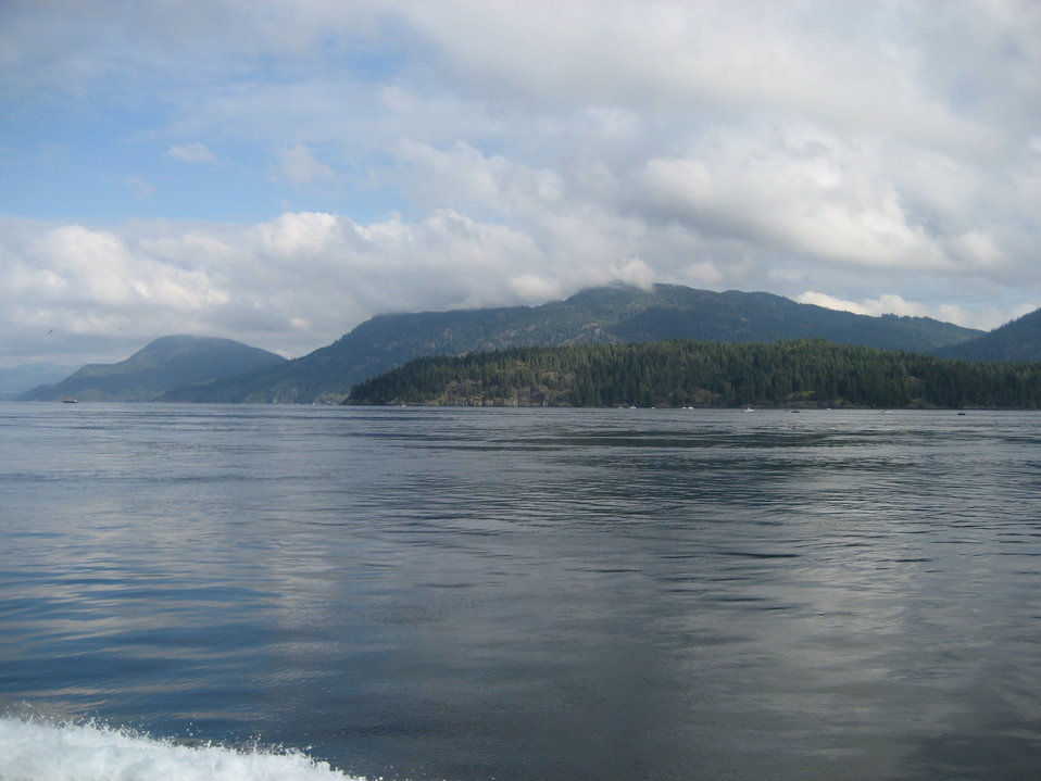 A scene along the Inside Passage.