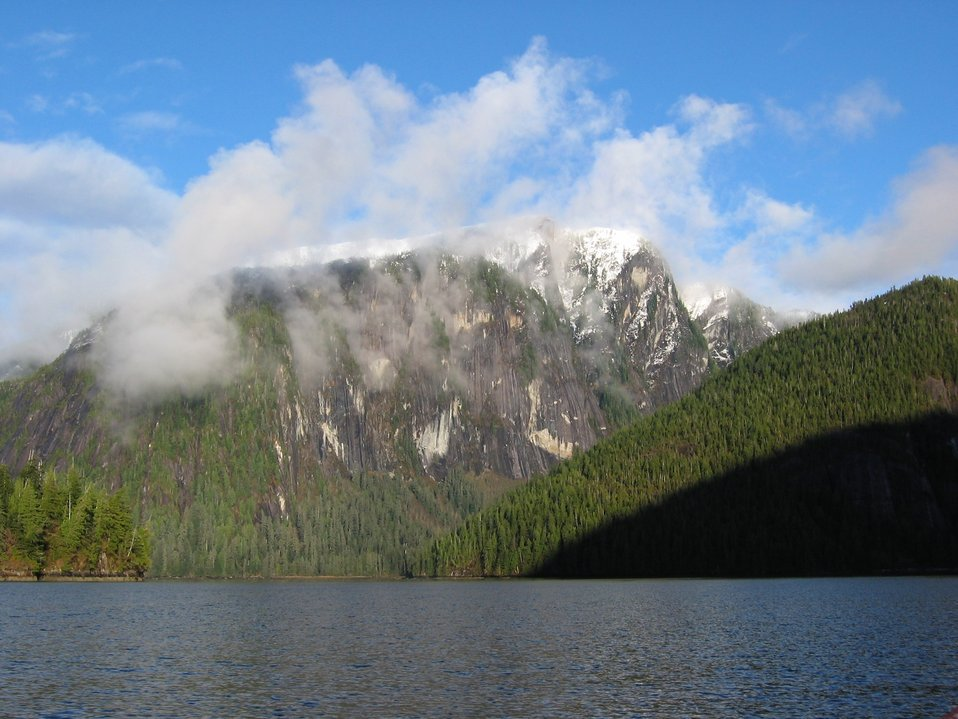 A maritime Yosemite in Rudyerd Bay.