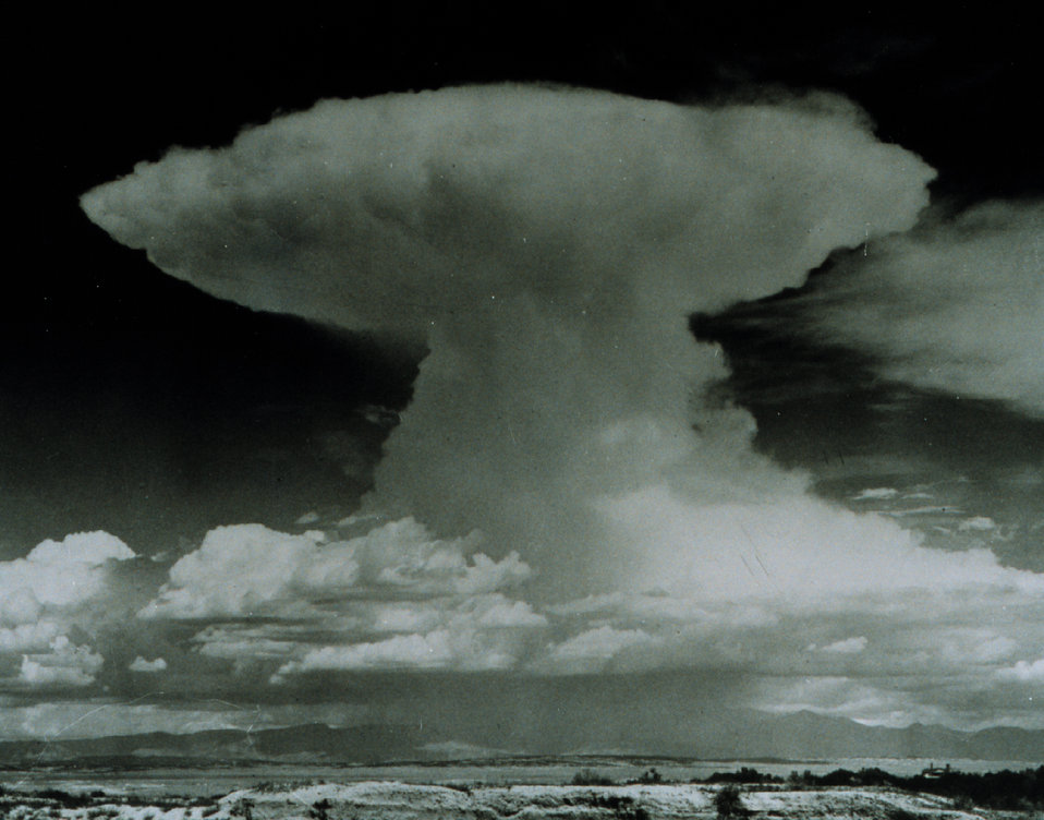 Towering thunderhead with anvil top