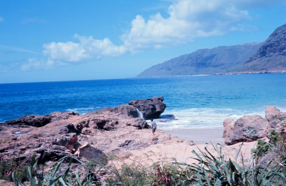 Waianae coast -southwest Oahu