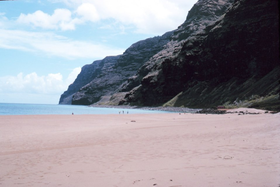 A beach on Kauai coast