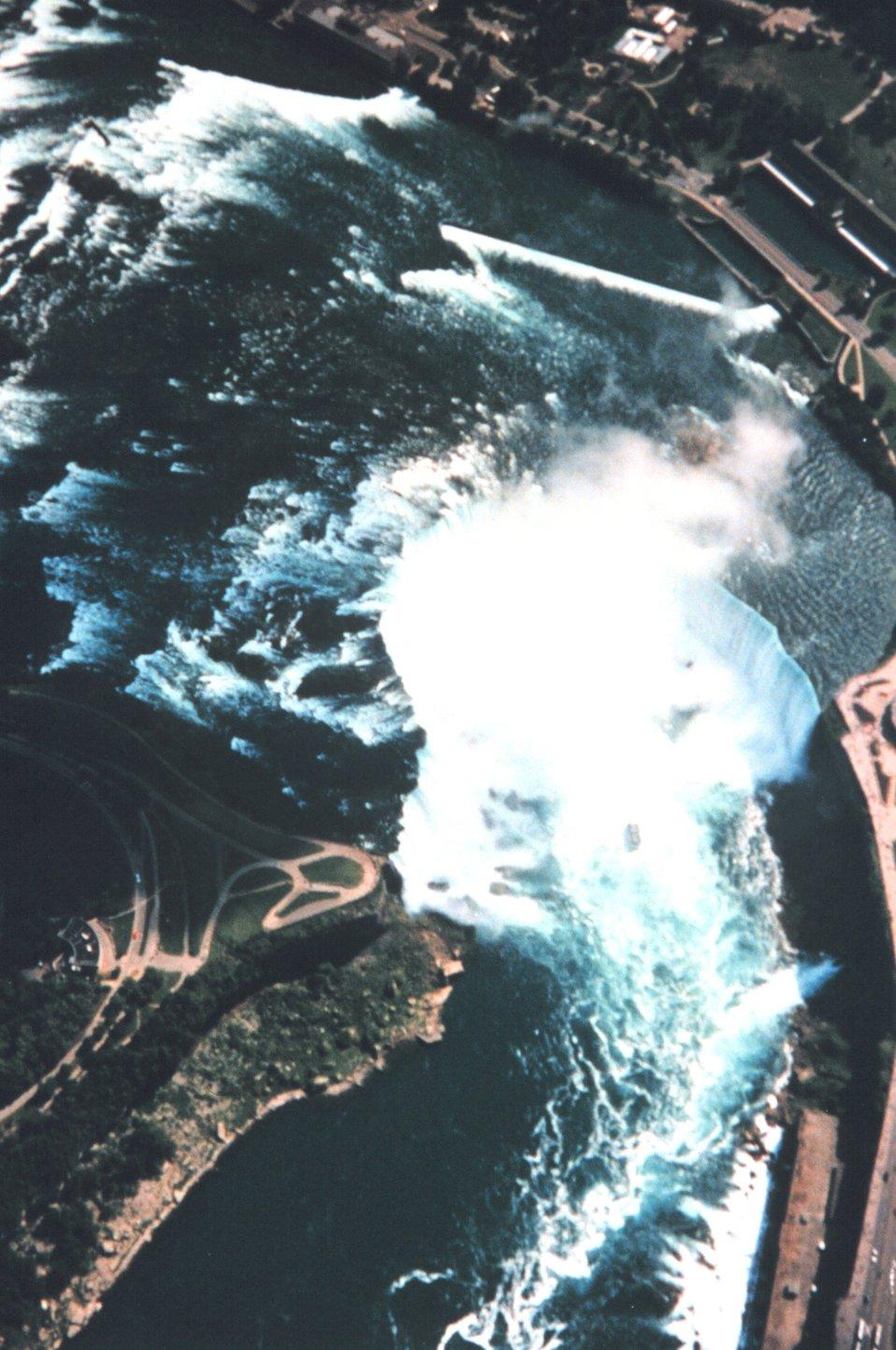 Niagara Falls as seen during Shoals Lidar survey of Niagara River.