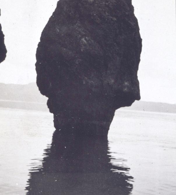 Mushroom-shaped rock