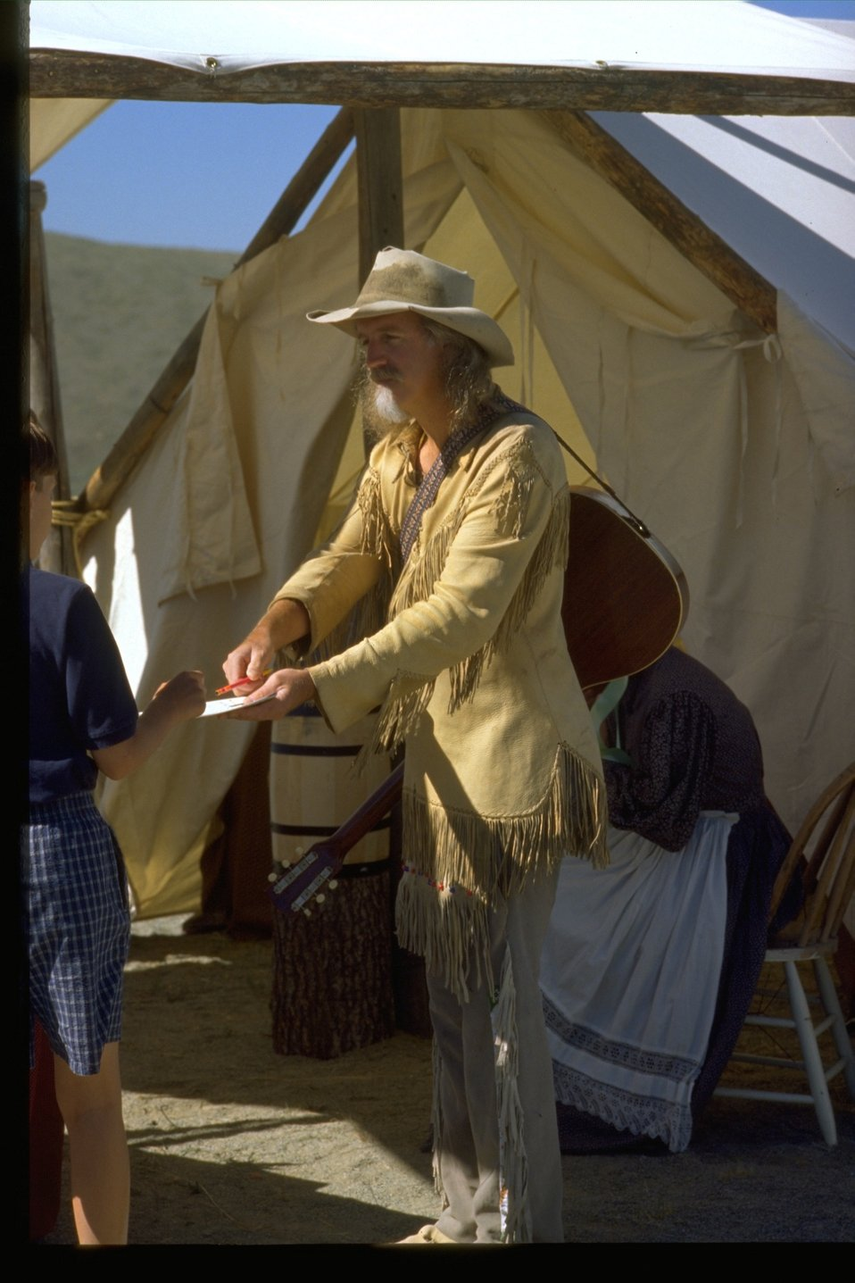 Bill Buycott from the Pioneer Festival at the NHOTIC.