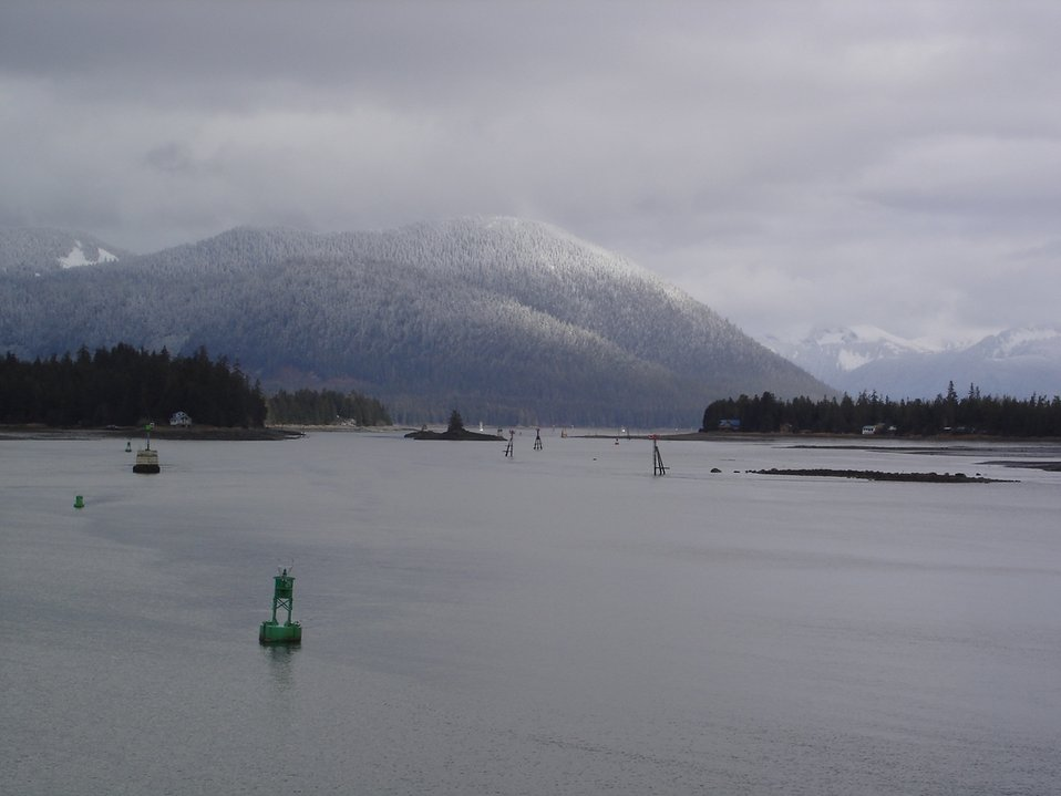 A scene along the Inside Passage seen from the NOAA Ship RAINIER.