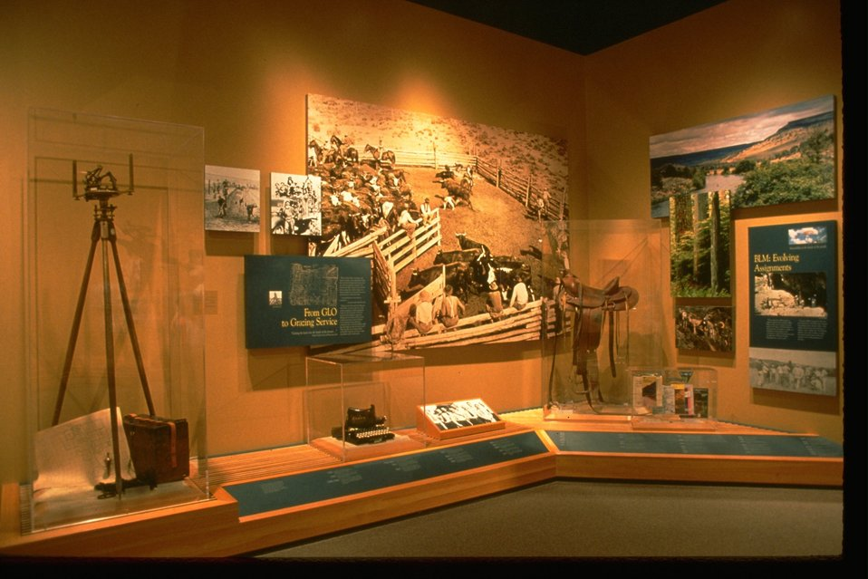 Exhibits at the NHOTIC.