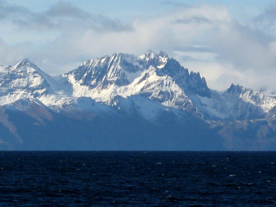 A scene along the Alaska Peninsula.