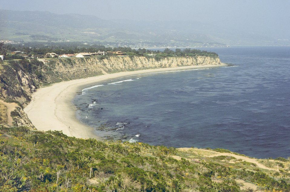 Point Dume area looking towards Malibu.