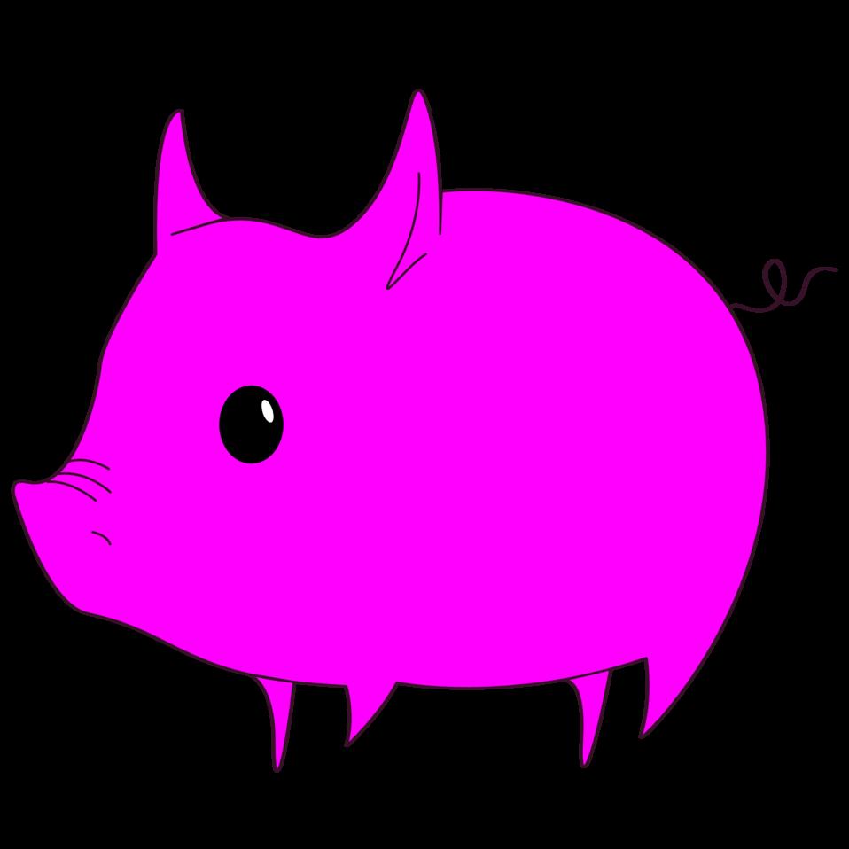 Magenta Pig