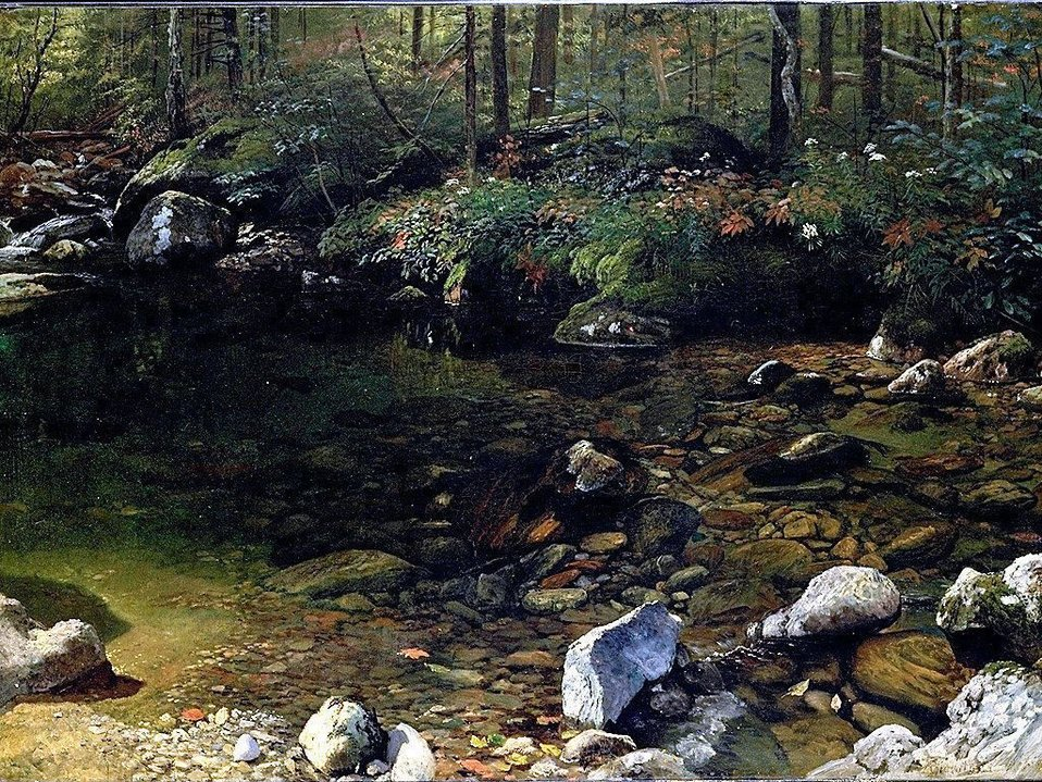 Albert Bierstadt - Shady Pool, White Mountains, New Hampshire.jpg