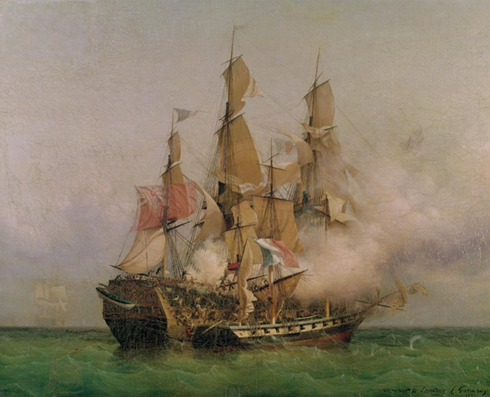 Ambroise-Louis Garneray - The Taking of the 'Kent' by Robert Surcouf in the Gulf of Bengal.jpg