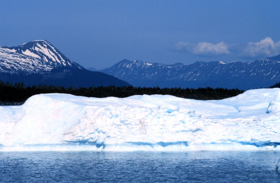 Iceberg in Seward area