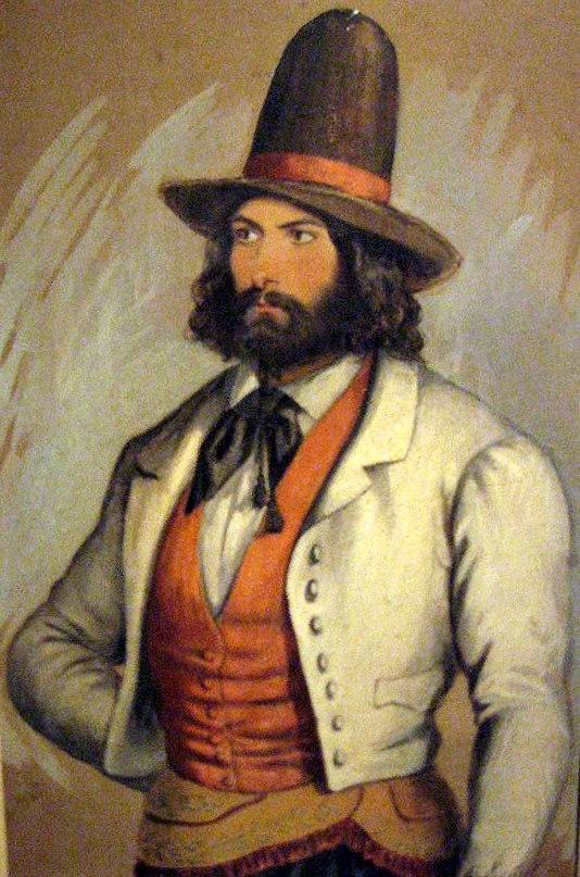 Adolfo d'Hastrel - Estanciero con chaleco federal.jpg