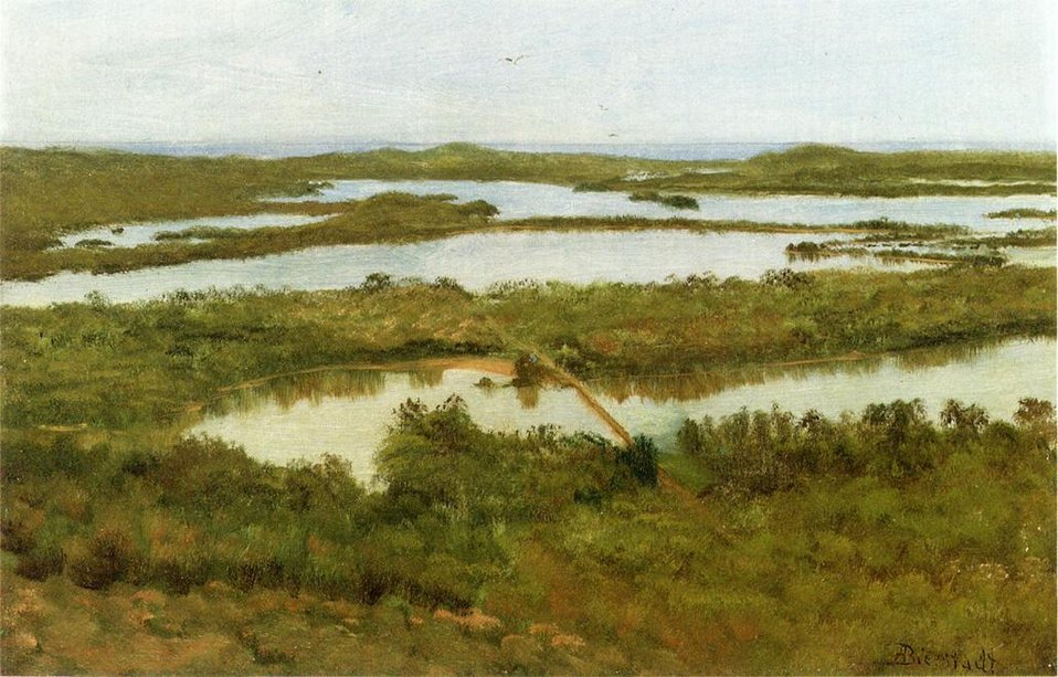 Bierstadt Albert A River Estuary.jpg