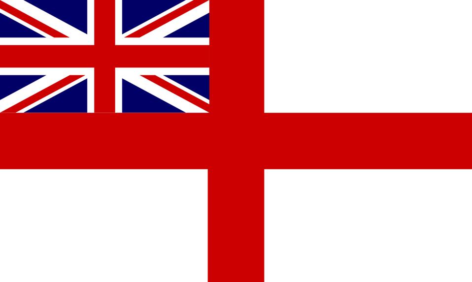 Historic Flag of the English Royal Navy