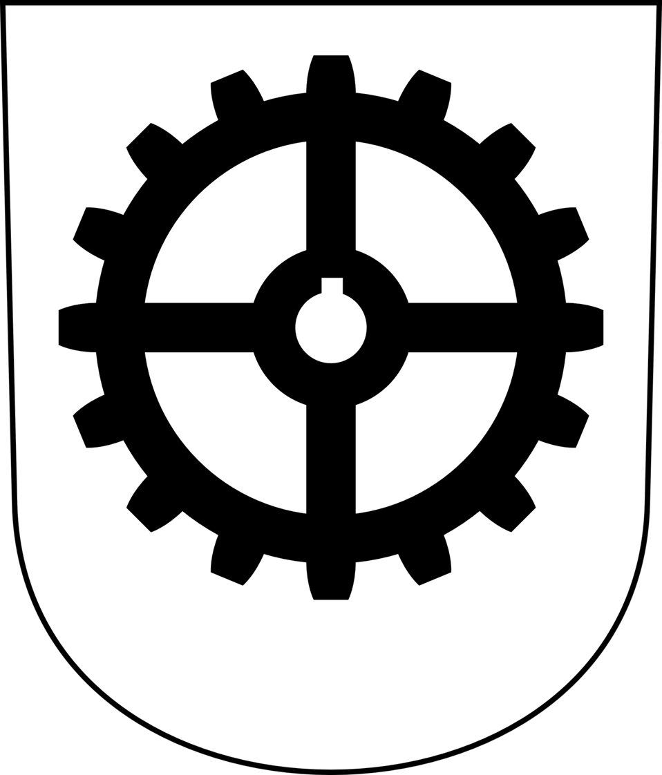 Industriequartier - Coat of arms
