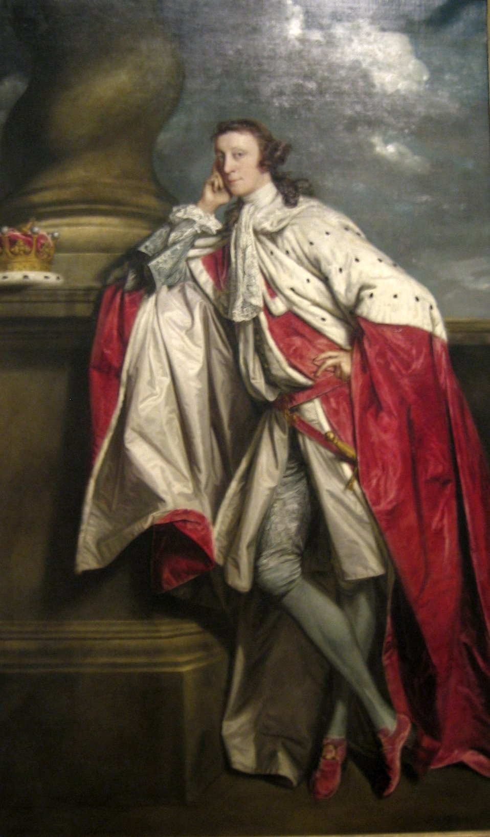 'James Maitland, 7th Earl of Lauderdale', oil on canvas painting by Sir Joshua Reynolds, c. 1790, Art Gallery of New South Wales.jpg