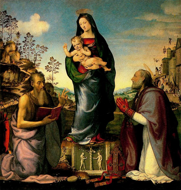 Albertinelli Franciabigio Vièrge et saints.jpg