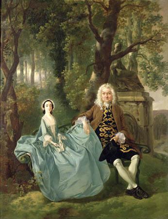 Thomas Gainsborough, Portrait of Mr and Mrs Carter of Bullingdon House, Bulmer, Essex (c. 1747-1748).jpg